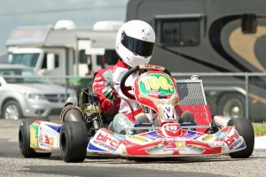 Garrett Boone enters the SummerNats leading the S2 standings (Photo: TexasProKartChallenge.com)