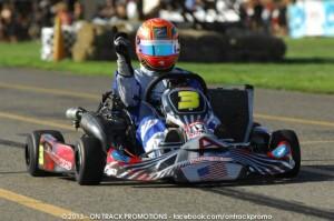 Kiwi driver Daniel Bray scored the victory in S1 Pro Stock Moto