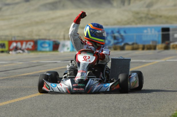 Italian Motors USA driver Andre Nicastro swept Sunday's action for his second victory of the weekend (Photo: On Track Promotions - otp.ca)