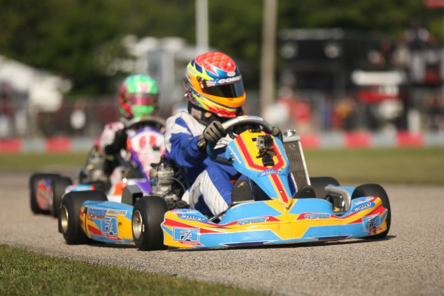 Veteran Mark Dismore Jr. came through Sunday to claim his first USPKS victory (Photo: David Olson)