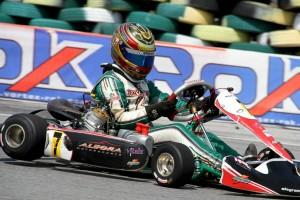 Double Race winner and Regional Champion of Rok Junior Michael DeQuesada (Photo: LiquidBlur.com)