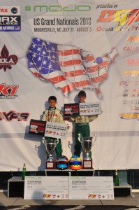 Michael and Nicholas d'Orlando will compete at the Rotax Micro & Mini Invitational at the  Rotax Grand Finals later this season (Photo: dOrlandoRacing.com)