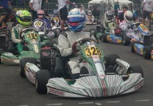 As an independent driver, AJ Myers battled some of the biggest teams in karting, narrowly missing the Super Pole and scoring a top-five result in Rotax Senior (Photo credit: AJ Myers Racing)