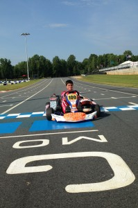 Michael Benyahia claims a podium result in Mooresville and will now be part of Team USA at the Rotax Grand Finals  (Photo credit: Michael Benyahia Racing)
