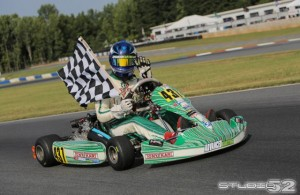 Daniel Formal made history at the 2013 US Rotax Grand Nationals, becoming the first driver to win four national titles in four different categories  (Photo credit: Ken Johnson - Studio52.us)