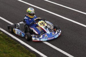 Team Koene USA driver Roman Deangelis claimed the Rotax Mini Max Vice Championship at the Canadian Karting Championships and will now travel to the Rotax Mini & Micro Invitation later this year in New Orleans (Photo: KoeneUSA.com)