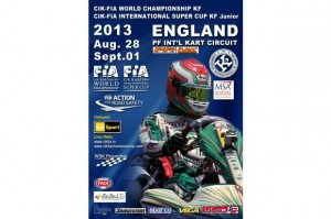 CIK-FIA World Championship England Banner