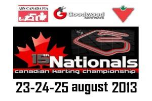 Canadian Karting Championship logo
