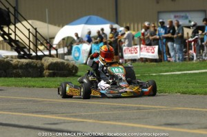 Jarred Campbell won both main events in the S5 category aboard his Intrepid (Photo: On Track Promotions - otp.ca)