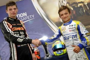 Verstappen and Norris (Photo: Press.net Images)