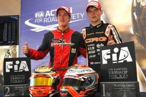 Antonsen and Verstappen (Photo: Press.net Images)