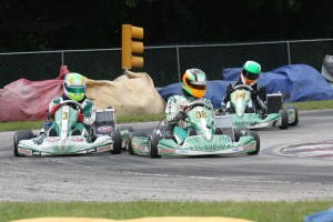 Michael Geringer and Colton Ramsey each won a Leopard 125 class final