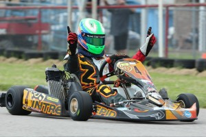 Jesse Woodyard won a main event race in S5 and Rotax Junior (Photo: dreamscaptured.net)