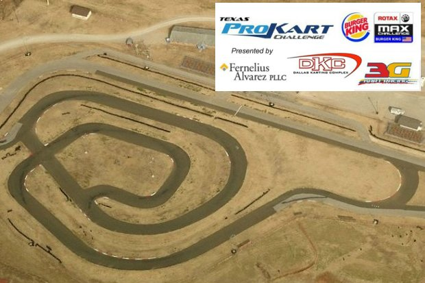 The challenging Oklahoma Motorsports Complex will host the seventh and eighth rounds of the Texas ProKart Challenge