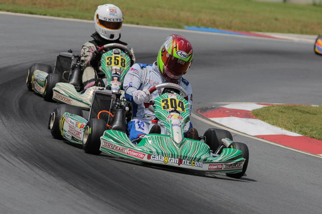 Sam Beasley showed speed to put him in contention for the Senior Max title (Photo: Ken Johnson - Studio52.us)