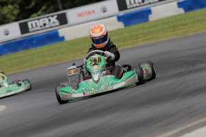 Junior Max drivers continued to chase Ashley Rogero on Friday (Photo: Ken Johnson - Studio52.us)
