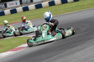 Rookie Oliver Askew was top qualifier and won the Super Pole session in Senior Max (Photo: Ken Johnson - Studio52.us)