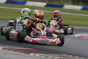 Nick Brueckner was top of the sheets in both qualifying and heat one for Mini Max (Photo: Ken Johnson - Studio52.us)
