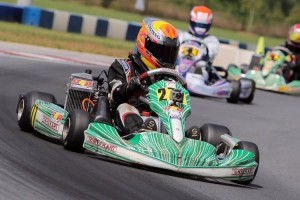 Austin drove to a top-10 finish at the United States Rotax Grand Nationals in North Carolina (Photo: Ken Johnson - Studio52.us)