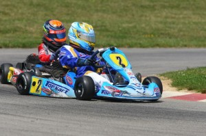 Zach Holden earned a pair of Sportsman wins on his Top Kart (Photo: NCRM)