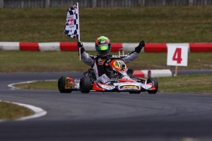 Pier-Luc Ouellette earned the Rotax DD2 title and will be back with Team Canada to vie for his third World Championship (Photo: PSL Karting)