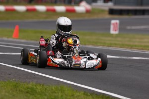 Patrick Woods added a top-five finish in the Rotax Micro Max final to PSL's tally (Photo: PSL Karting)