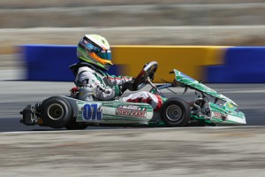Anthony Gangi Jr. was unstoppable at the recent SKUSA California ProKart Challenge event (Photo: dromophotos.com)