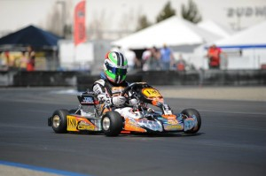 David Rafailov claims the Rotax Mini Max title in the 'Race for the Rockies' series and will now travel to  New Orleans for the Rotax Micro & Mini Invitational in November (Photo: Alexander Rafailov)