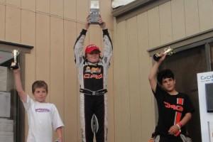 Mini Max podium