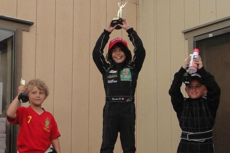 Micro Max podium