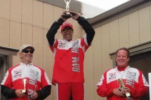 Rotax Masters podium