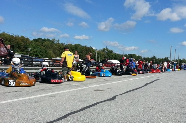 A full field of Briggs Animals at Summit Point for the WKA Nationals in 2012 (Photo: NCRM)