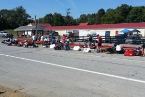TaG and WKA Sprint starting grid (Photo: NCRM)