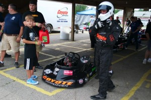 Michael Fauci had a great weekend at WKA Gold Cup at G&J Kartway in Camden, Ohio, in July, winning all three Senior Pro Gas main events and netting over $750 in earnings (Photo: WKA)