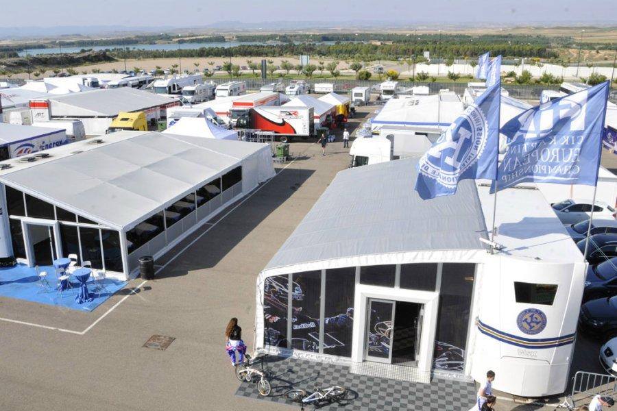 CIK-FIA World - paddock