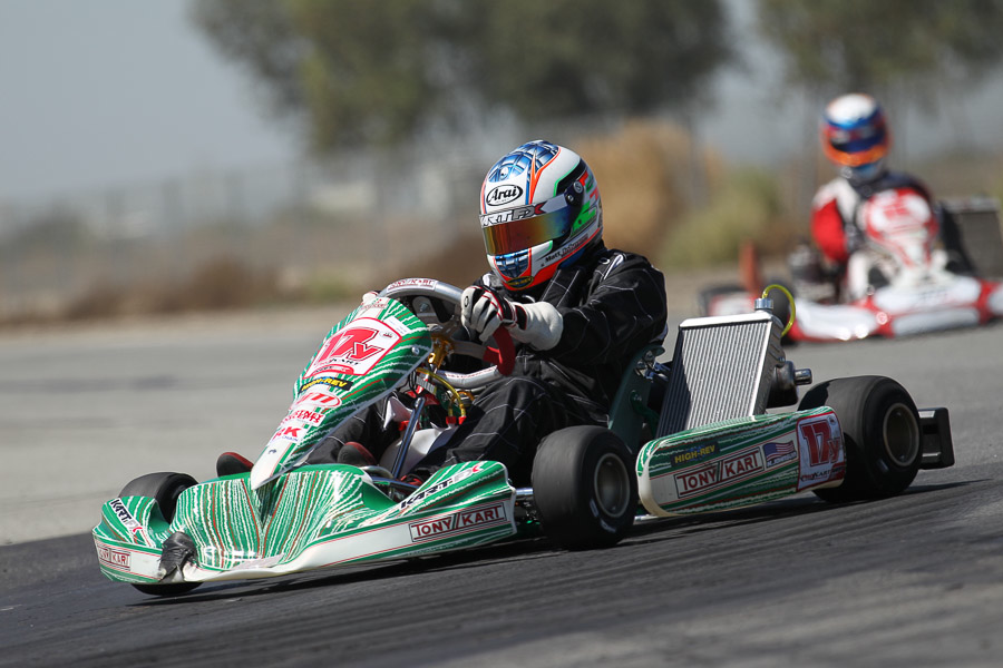 Matt Johnson scored his first victory in TaG Senior on the season (Photo: dromophotos.com)