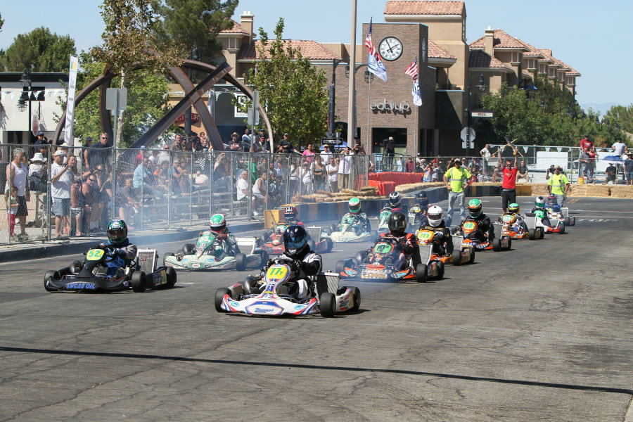 Karts will hit the boulevard on September 28-29 for the fifth running of the Streets of Lancaster Grand Prix, acting as the final round of the California ProKart Challenge (Photo: dromophotos.com)