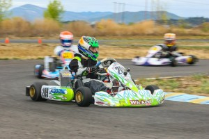 Kyle Wick scored his first major victory Sunday in Rotax Junior (Photo: Sean Buur / Can-Am Karting Challenge)