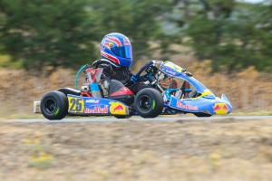 Max Wright doubled up in Micro Max to score a trip to the Invitational and the series championship (Photo: Sean Buur / Can-Am Karting Challenge)