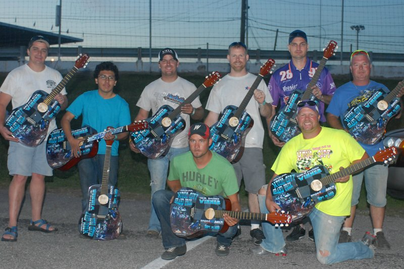 Winners take home the inaugural Music City Grand Prix Guitars