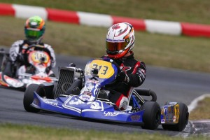 DeMelo controlled everything Sunday with pole, Prefinal and Final wins (Photo: IPK North America)