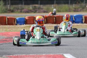 Connor Hall earning the pole position in qualifying (Timo Deck/RGMMC Media)