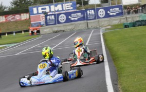 Alessio Lorandi (Tony Kart-Parilla) was the fastest in the qualifying of the CIK-FIA KFJ International Super Cup.