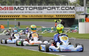 Alessio Lorandi (Tony Kart - Parilla) The best in the KF3 heats.