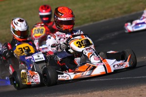 Kashak began the week with a stellar Pole Position in Rotax Senior (Photo: IPK North America)