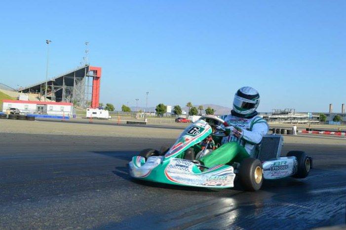 Taking advantage when he could, Erik Jackson drove to an impressive win in the S4 class (Photo: Joe Stalker - LAKC)