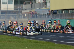 The KGP starting grid coming to life