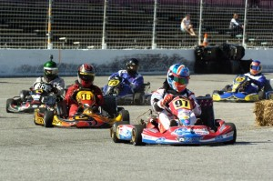 Chris Putnam leads the Shifters into turn one