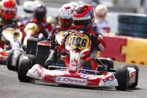 Point leader Olivier Bedard is looking for a return to the Rotax Grand Finals (Photo: eckc.ca)