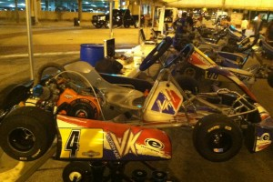 The finished product Friday night in the paddock